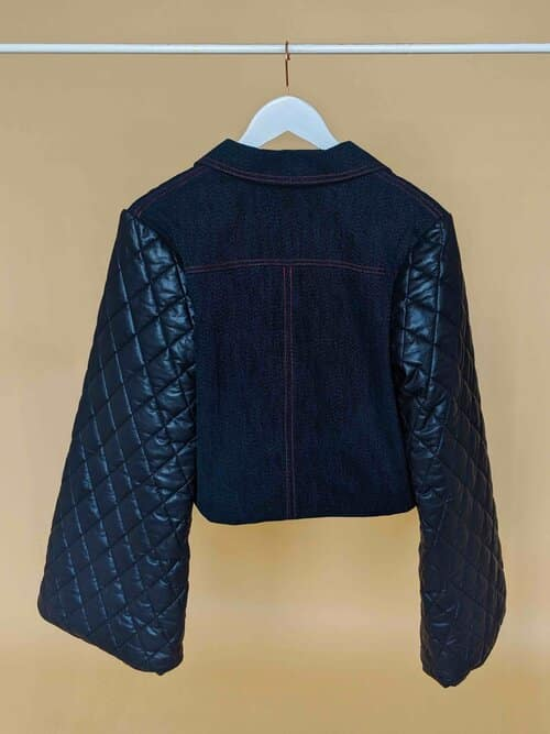 Radwa Radwan Quilted Jacket Stop Censoring our Art