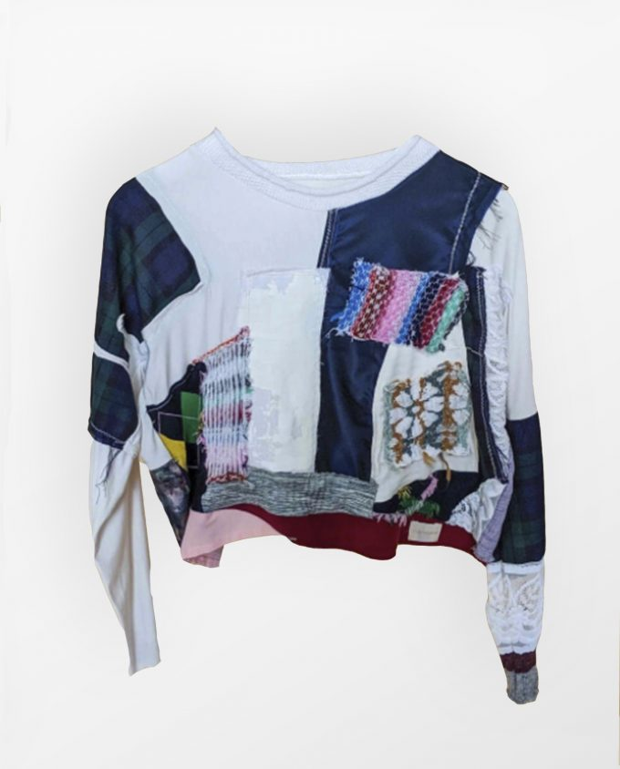 Upcycled Top 3 Elin Manon