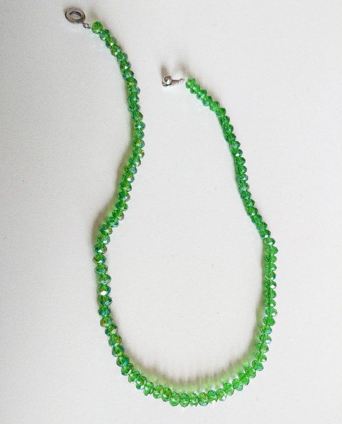 Green Necklace Shakila Thebe