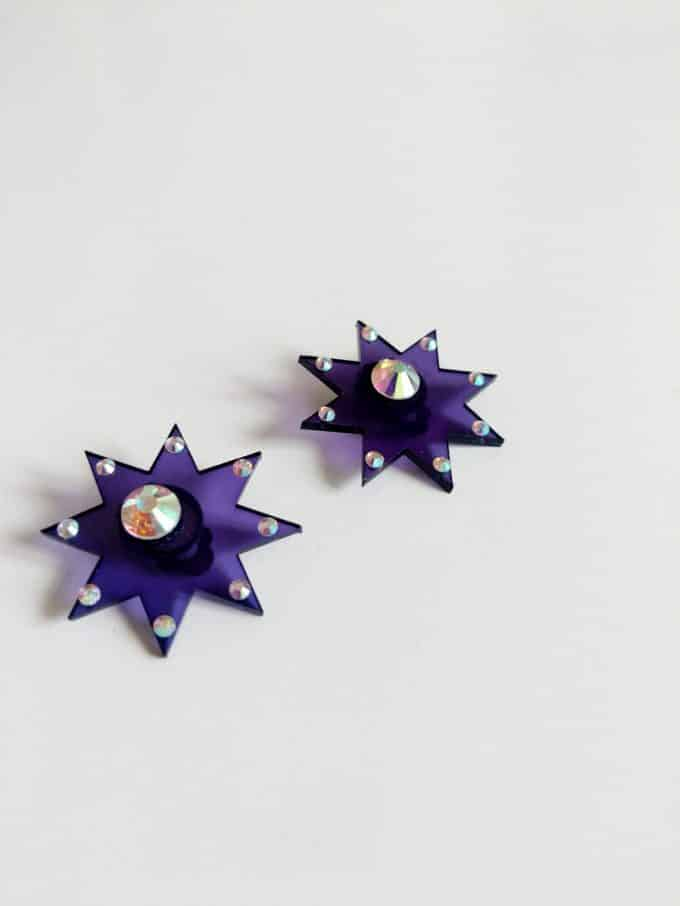 Starburst Earrings Manimekala