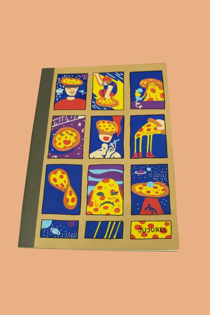 Pizza Notebook Juliette Rechatin