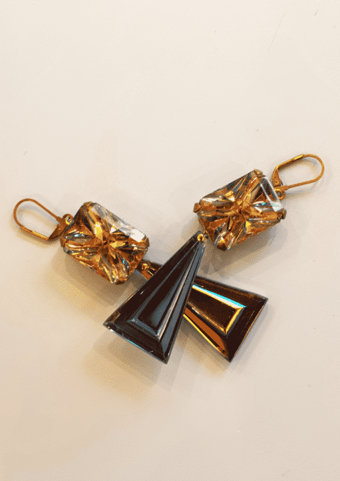Crystal Stone Earrings Piret Kartus