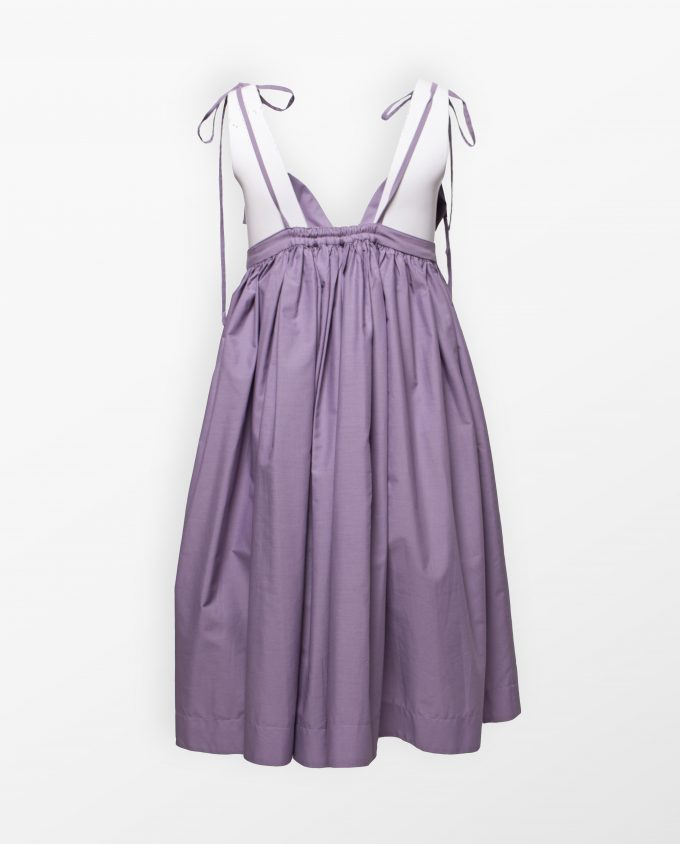 Lilac Dress Rose Corps