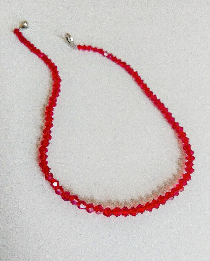 Red Necklace Shakila Thebe