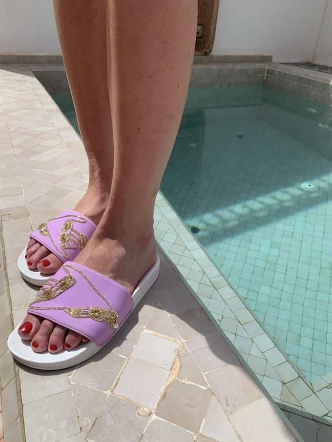 Lilac Swim Shoes Oceanus Swimwear