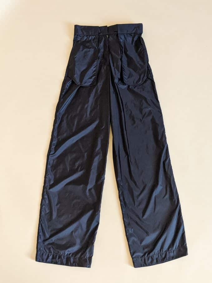 Black Inside Out Trousers Shakila Thebe