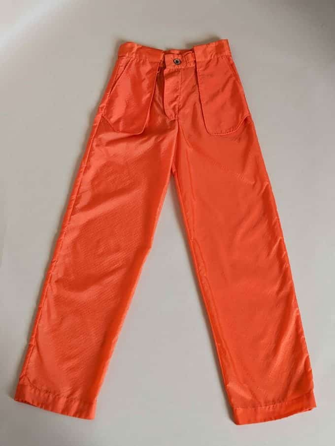 Tangerine Inside Out Trousers Shakila Thebe