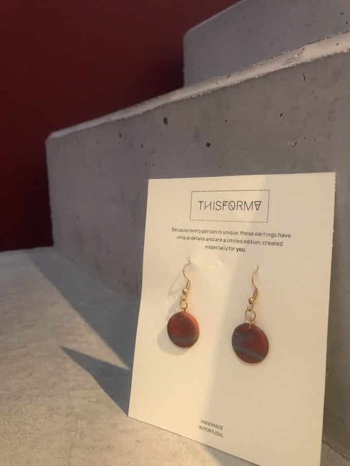 Copper Earrings This Forma