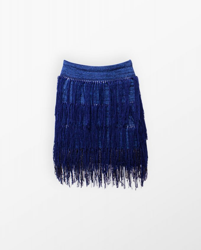 Kamilo Fringed Skirt Francesca Palumbo