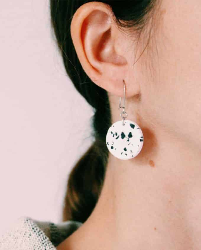 This Forma Handmade Spotted Earrings
