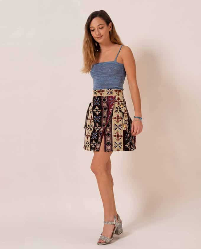 Mini Ethnic Skirt Relax Baby Be Cool