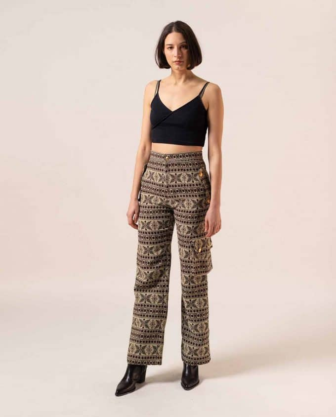 Relax Baby Be Cool Multi-Pockets Trousers