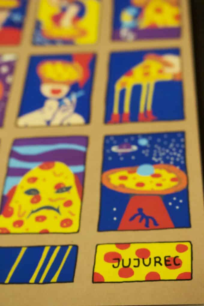 Illustrated Notebook Pizza