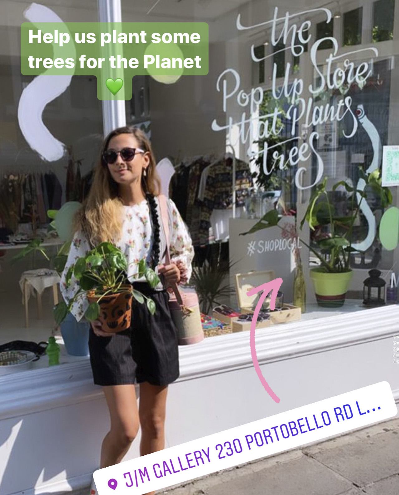 The Pop Up Store That Plants Trees